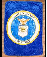 """The Lakeside Collection 60x80"""" Plush Military Throws-Airforce - $34.77"""