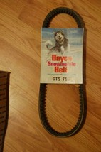 DAYCO Snowmobile Belt GTS 750  Vintage new old stock - $11.99