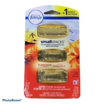 Febreze Small Spaces Hawaiian Tropical .54 fl oz 1 pack with 3 Refill Ca... - $18.81