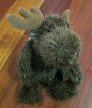 "Unipak Moose Plush Stuffed Animal Toy Brown Small 7"" - $8.90"