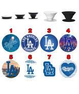 Pop up Phone Holder Expanding Stand Finger Grip Mount Los Angeles Dodger... - $11.99