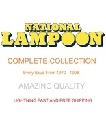 National Lampoon Magazine COMPLETE .PDF Collection - Issues From 1970 to... - $29.99