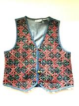 Casey & Max Womens  Blue Denim  Vest Button Up size Large - $2.96