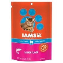Iams PROACTIVE HEALTH Oral Care Daily Treats for Cats Salmon Flavor 2.47... - $21.84