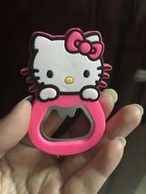 1PC Hello Kitty Beer Bottle Opener Coke Juice Beverages Opener Fridge Ma... - £1.09 GBP