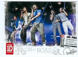 One Direction trading card (One Direction 1D) 2013 Panini On the Road #4 - $4.00