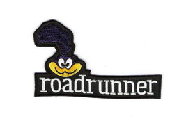 Looney Tunes RoadRunner Face and Name Embroidered Patch, NEW UNUSED - $7.84