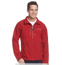 Columbia Get a Grip™ Thermal Coil Softshell Winter Jacket Zip Up Red XL XXL COAT - $55.10+