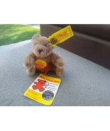Vintage Steiff Miniature Teddy Bear with Tags 0202/11 approx 2.75 inch m... - $39.99