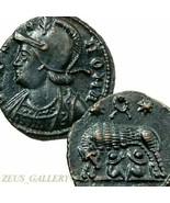 Sie Wolf Zwillinge Romulus Remus Au Kranz Constantine Die Groß Antike Ro... - $350.09