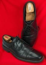 Bostonian Flexlite Mens Dress Shoes Lace Up  Ipswich Leather Black Size 11 1/2M - $49.96