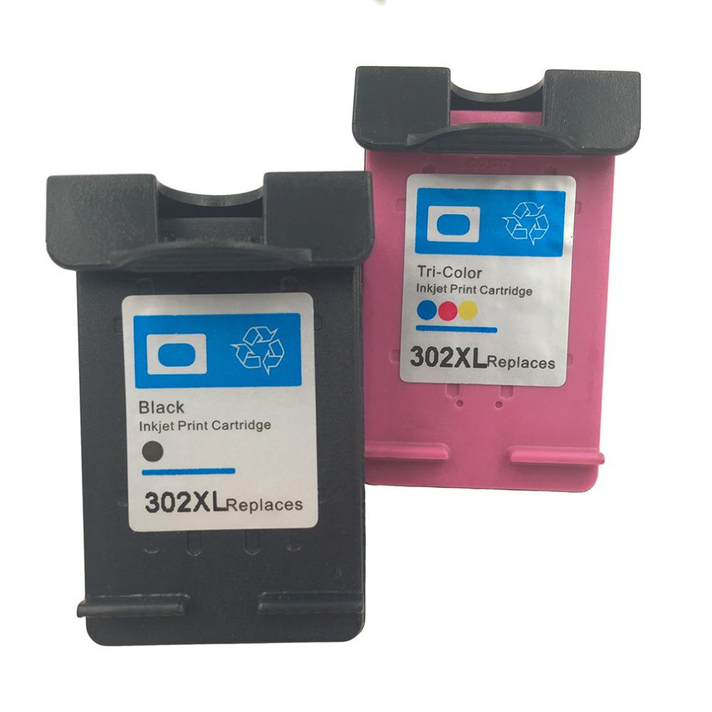 Non-OEM Ink Cartridge FOR HP-302XL FOR HP DESKJET 2130 ...