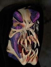 Skull Mask Predator Purple Hood Snake Tongue Gruesome Halloween Costume ... - $110.02 CAD