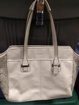 Coach Leather Taylor Alexis Handbag Carryall - $49.49