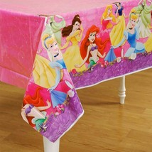 Disney Princess DreamsPlastic Table Cover Birthday Party Supplies 1 Per Package - $9.85