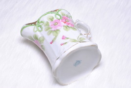 Vintage Collectible Small Hanpainted Porcelain Japan Creamer Pitcher - $25.00
