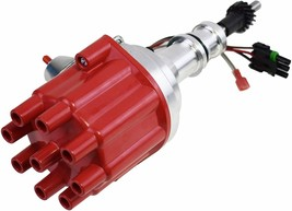Pro Series R2R Distributor Ford SB Windsor 221 260 289 302 5.0 L 289/302W Red image 2