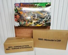 Mega Bloks Dragons Krystal Wars Battle Chest 355 Pieces 3 Sets 98921 Sea... - $232.65