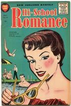 Hi-School Romance #41 1955- Harvey comics- Bob Powell art FN - $69.36