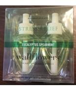 NEW Bath & Body Works Wallflowers EUCALYPTUS SPEARMINT aromatherapy set ... - $16.82