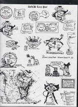 Doc's Local Post Cinderella Souvenir Stamps Illustrated Sheet Ref 37974 - $12.25