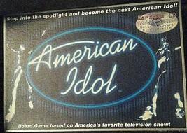 American Idol Board Game With Karaoke CD 2003 Imagination Entertailment - $10.00