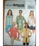 Butterick  Miss/Miss Petite Short & Tank Top Size 16-22 #B5034 Uncut - $5.99