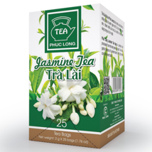 03 Boxes ( 1 box 25 packs) - Jasmine Tea Bag - Tra Lai Tui Loc - Phuc Long - $29.69