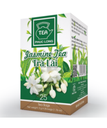 03 Boxes ( 1 box 25 packs) - Jasmine Tea Bag - Tra Lai Tui Loc - Phuc Long - $29.69