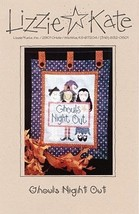 """Ghouls Night Out"" Lizzie Kate Halloween Cross-Stitch Pattern - $3.95"