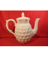 """7 1/4"""", 6 Cup Teapot, from Spode, in the Williamsburg Pinapple Pattern. - $39.99"""