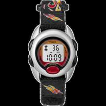 Timex Kid's Digital Nylon Band Watch - Flames - $22.39