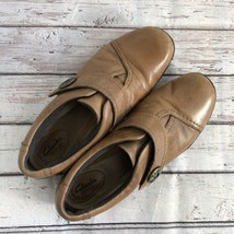 Clarks Artisan Loafers Brown Leather - Size 8N - $16.48