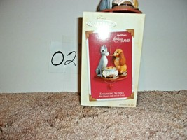 Disney Keepsake Ornament 2003 Spaghetti Supper Lady And The Tramp Tree D... - $35.99