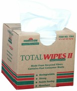 Horizon Industries 1364- 4-Ply Tissue Total Wipes II Scrim Industrial Wi... - $62.69