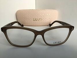 New LIU JO LJ 2616 219 Cats Eye Mink Brown 52mm Rx Women's Eyeglasses Frame  - $99.99