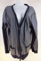 Ralph Lauren Lrl Strickjacke Pullover Größe XL Marineblau Weißen Streifen 5 - $17.54