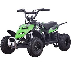 Monster Insect 250W 24V Electric Ride-On ATV for Kids, Green - $394.89