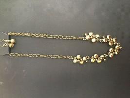 Paparazzi Necklace Set Short (new) Hollwood Hills Brass #859 - $7.61