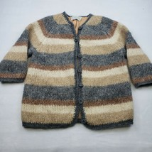 Vintage Colebrook Women's Mohair Blend Cardigan Made in Italy Sweater - $32.50