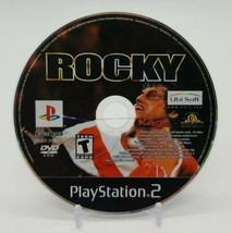 Rocky (Sony PlayStation 2, PS2 2002) Disc Only Very Clean Condition Boxing  - $9.78