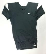Nike Stock Vapor Pro Football Vented Jersey Men's XL Grey White 845929-061 - $25.73