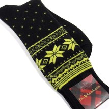 Polo Ralph Lauren Men's Socks Fair Isle Snowflake Lambswool Black & Brig... - $16.00