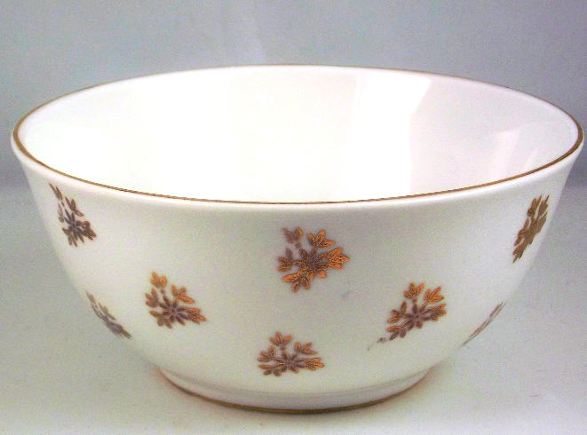 Royal Tara white and gold small bone china bowl Ireland