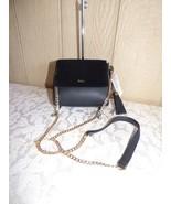 $168.00 Ralph Lauren Mini Skyler Velvet Flap Crossbody, Black - $64.35