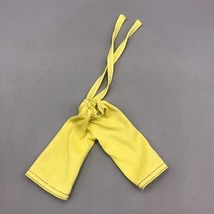 Vintage Barbie Darci Doll Clothing Yellow Pants Accessory Part 1970's - $4.94