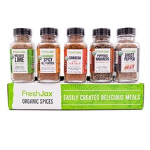 Organic Hot & Spicy Seasonings Gift Set - $24.99