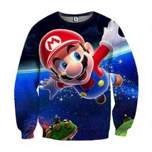 Super Mario Galaxy Awesome 3D Model Full Printed Sweatshirt - $39.99