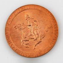 1860-1960 Pony Express Centennial Us Mint Medal - $66.83