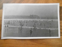 Old Vintage Long Beach California Picture Photo Photograph or Image Pier... - $9.99